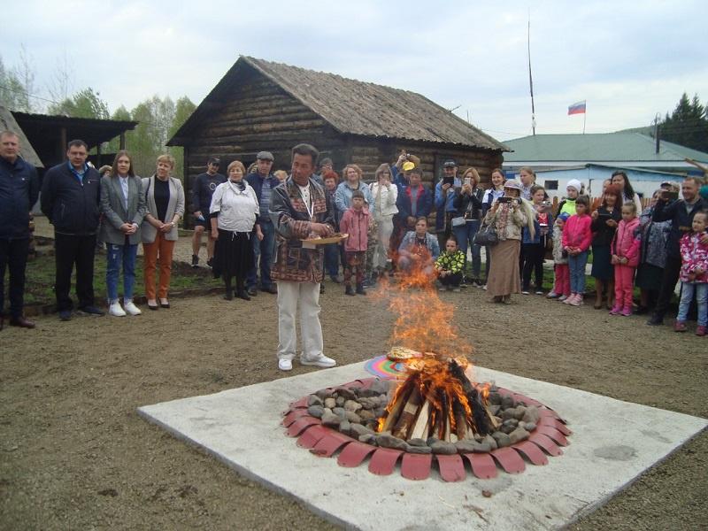 В Мысках на базе Центра духовной культуры «Эне Таг» открылась этническая шорская деревня.